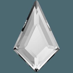 Swarovski 2771 - Kite, Hotfix - Crystal