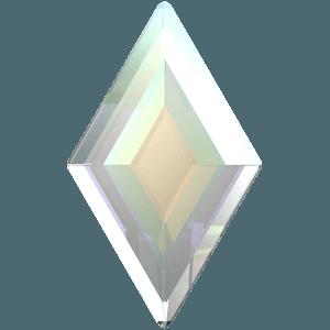 Swarovski 2773 - Diamond Shape, Hotfix - Crystal AB