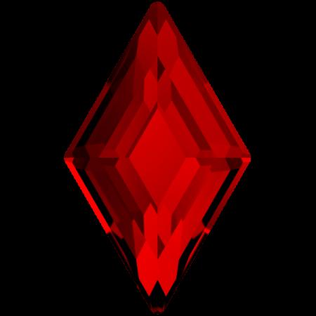 Swarovski 2773 - Diamond Shape, Hotfix - Light Siam