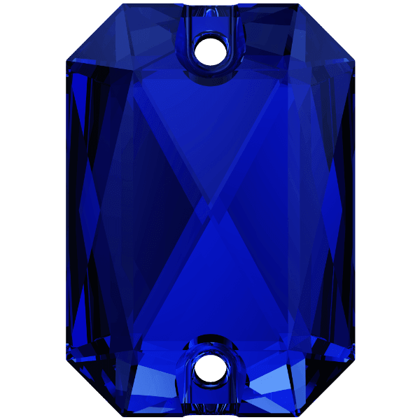 Swarovski 3252 - Emerald Cut - Majestic Blue