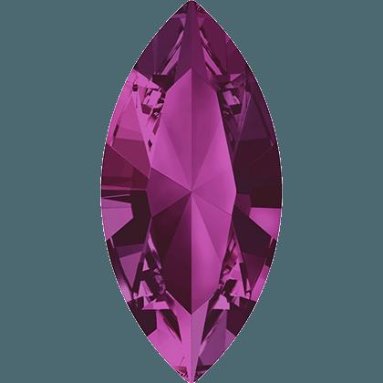 Swarovski 4228 - XILION Navette, Fuchsia