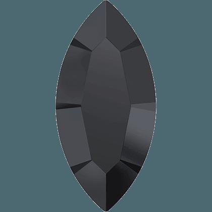 Swarovski 4228 - XILION Navette, Jet Hematite