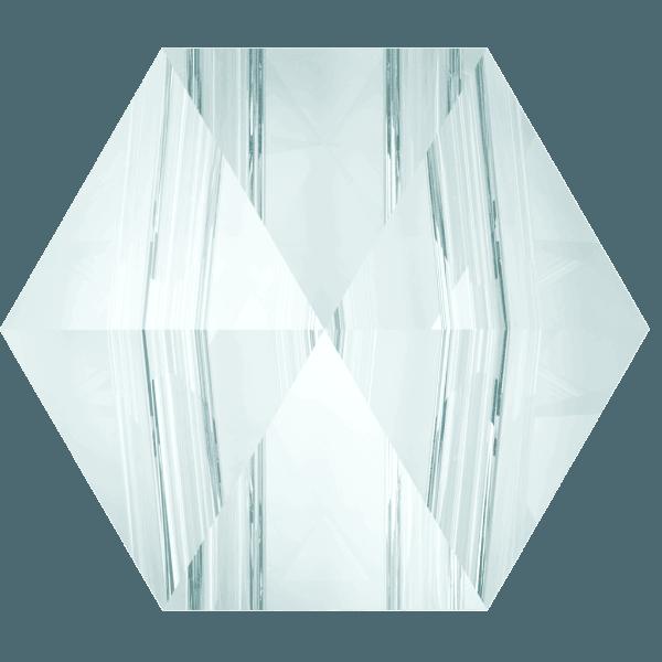 Swarovski 5060 - Hexagon Spike, Crystal Blue Shade