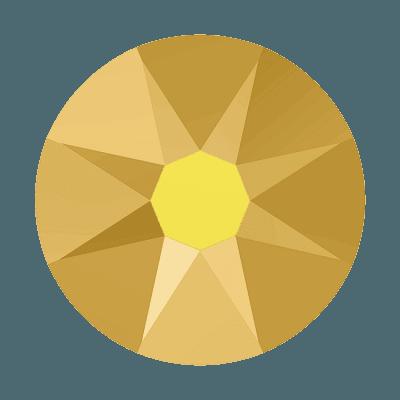 Swarovski 2088 - Xirius Rose, Crystal Aurum