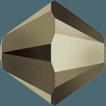 Swarovski 5328 - XILION, CR Metallic Light Gold