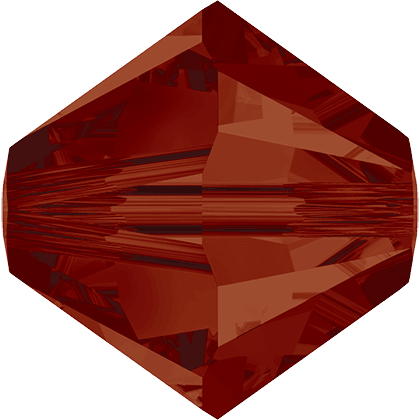 Swarovski 5328 - XILION, Red Magma