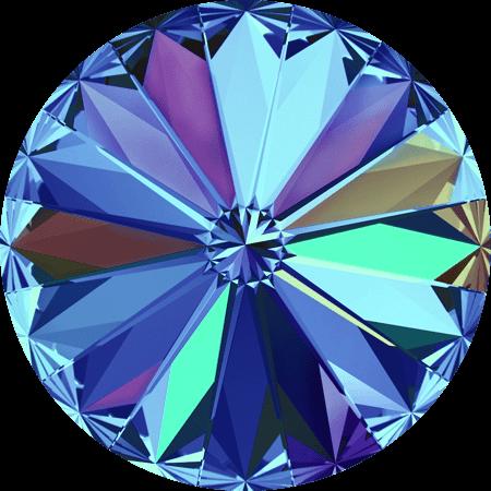 Swarovski 1122 - Rivoli Chaton, Crystal Bermuda Blue