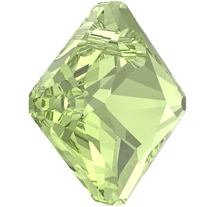 Swarovski 6431 - Princess Cut, 11.50 mm - Peridot
