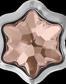 Swarovski 81961 - Becharmed Edelweiss Bead Vintage Rose