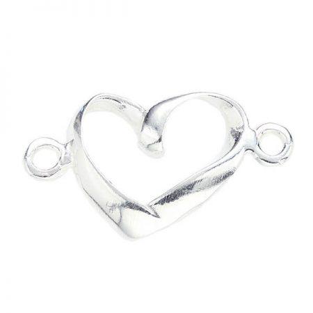 Сребърна Висулка P062, Сърце