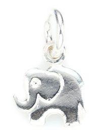 Сребърна Висулка P063, Слонче