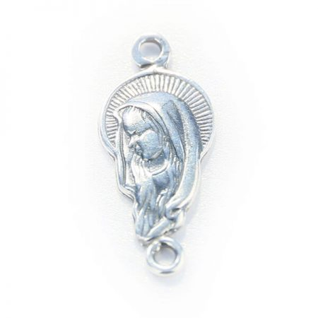 Сребърна Висулка P064, Богородица