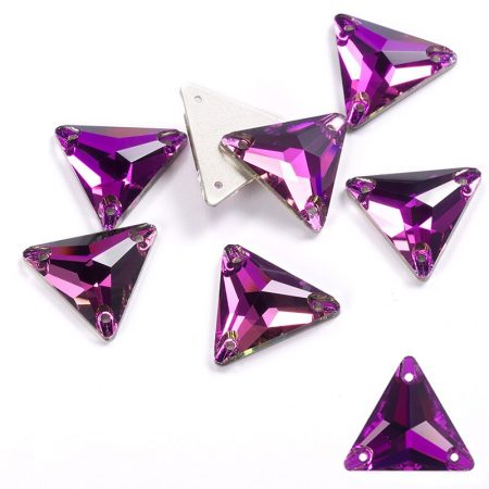 Триъгълни кристали за зашиване