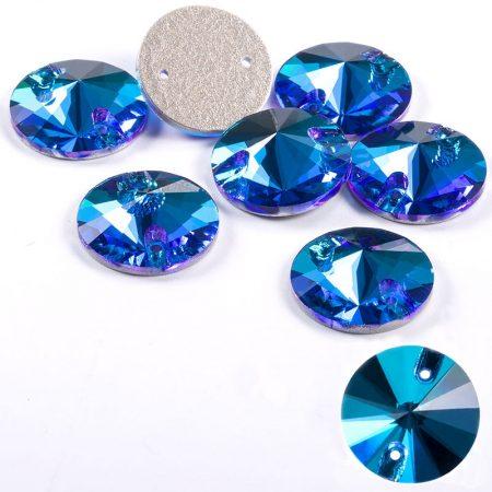 Krugli kristali za zashivane trika, sini