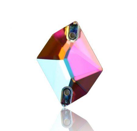 Ромб кристал за зашиване, хамелеон, трика, рокли, танци