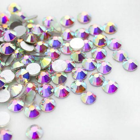 Кристали за трика, рокли, танци, художествена гимнастика, евтини, кристал аб, хамелеон