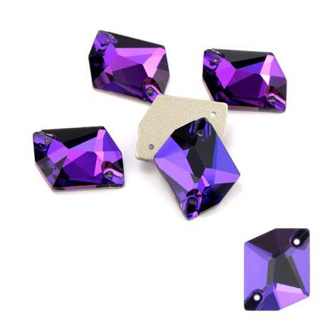 Лилави кристали за зашиване, cosmic, художествена гимнастика