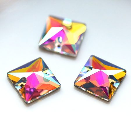 Квадратни кристали за зашиване Crystal AB