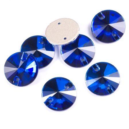 Кръгли кристали за зашиване, евтини, сини, художествена гимнастика