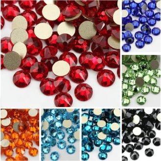 Евтини кристали за студено лепене