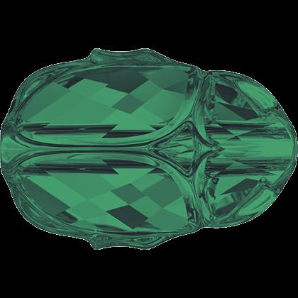 Сваровски скарабей, зелен цвят 2