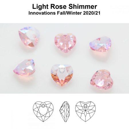 Swarovski Light Rose Shimmer