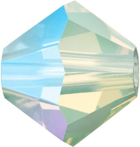 Preciosa Мъниста Chrysolite Opal AB