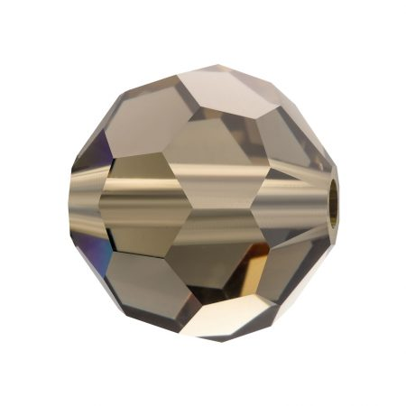 Preciosa Round Bead Black Diamond Мънисто