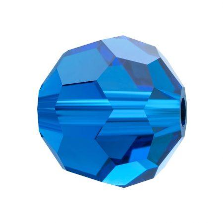 Preciosa Round Bead Capri Blue Мънисто